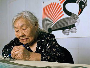 Inuit Artist Kenojuak Ashevak