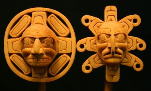 Inuit Moon and Sun symbols